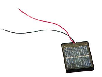 Montage cellule solaire