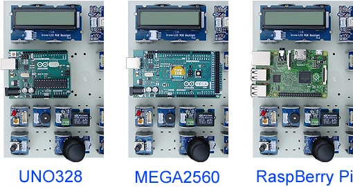 Supports R.I.P compatibles arduino