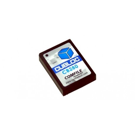 Module CUBLOC CB280 programmable en Basic et en Ladder - Comfile