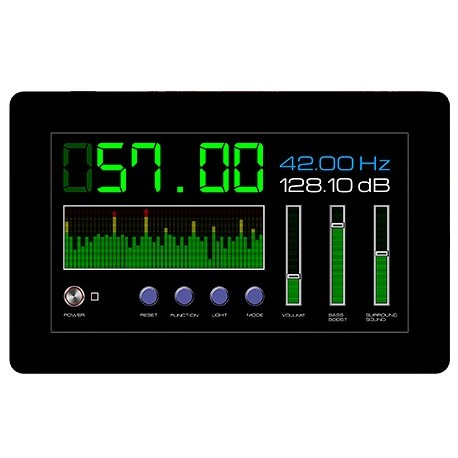 """Afficheur graphique tactile couleur 4D Systems """"gen4-uLCD-70DCT-CLB"""""""