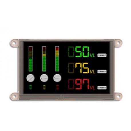 """Afficheur graphique tactile couleur 4D Systems """"gen4-uLCD-50DTB"""""""