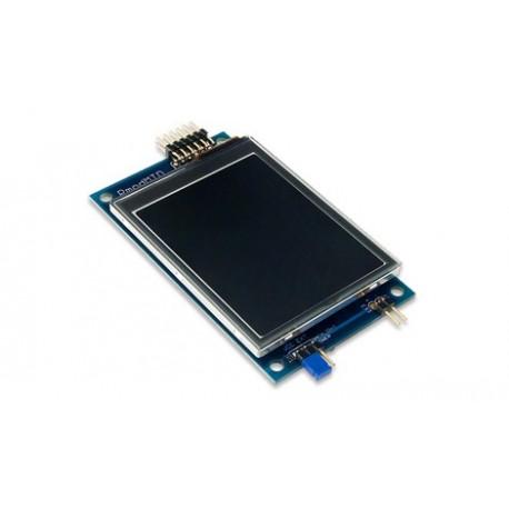 """PMODMTDS : Ecran graphique couleur tactile 2,8"""" à bus SPI pour arduino"""