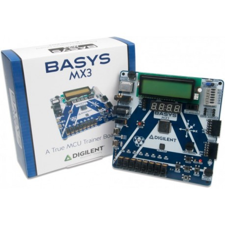 Platine Basys MX3 PIC32MX Trainer Board