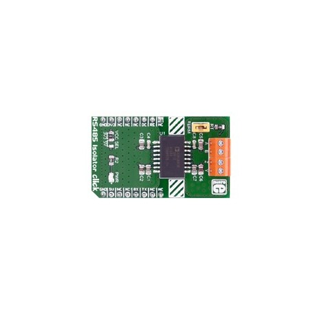 Interface RS485 Isolator click