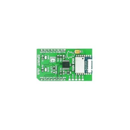 Module SPIRIT click transceiver 868 Mhz faible consommation SP1ML