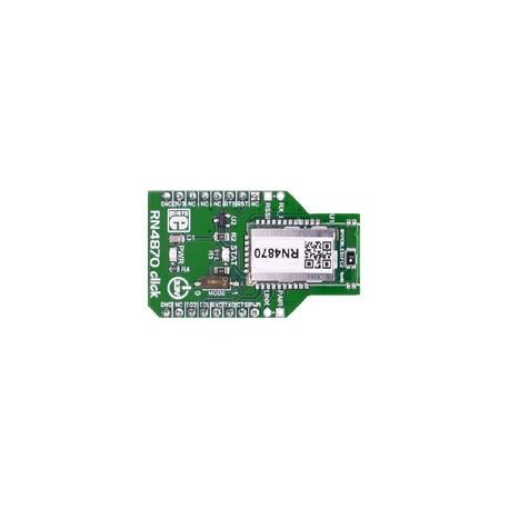 Module RN4870 click Bluetooth 4.2 low energy Mikroelektronika