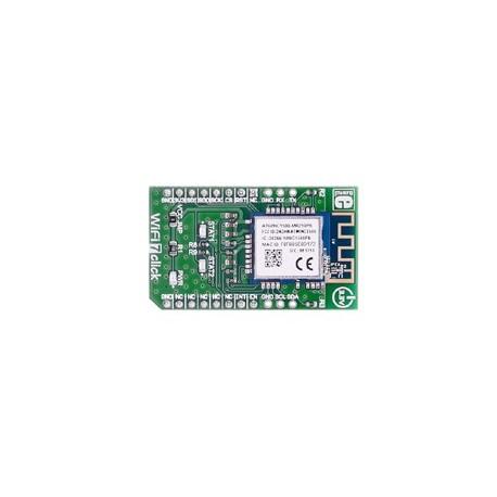 Module Mikroelektronika WiFi 7 Click (base ATWINC1510-MR210PB)