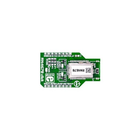 MIKROE-2545 Module RN4678 click Bluetooth 4.2 dual mode