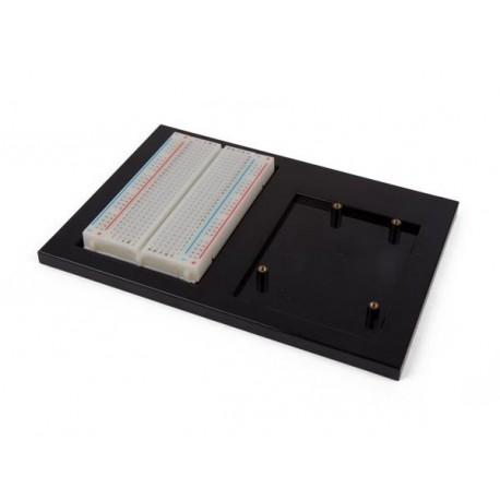 Plaque support avec breadboard pour carte Arduino OPENLA060
