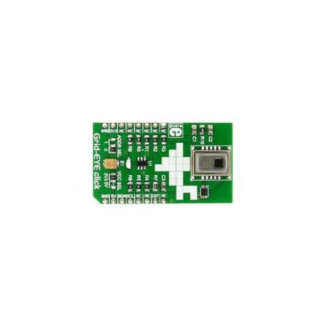 MIKROE-2539 : Grid-EYE click - Caméra thermique basse résolution