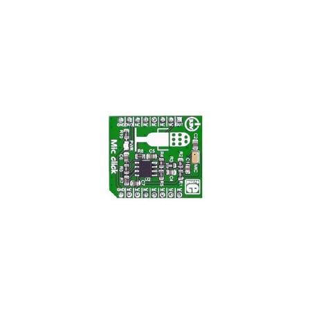 MIKROE-2563 : Mic click Board - microphone omnidirectionnel amplifié
