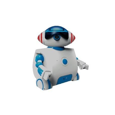 """HUM-001 Châssis robot """"Humanoïde roulant"""" pour apprentissage STEM"""