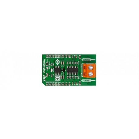 Ce module Click Board vous permettra de mesurer des tensions externes positives ou négatives (0 à 24 V) à l'aide de votre microc