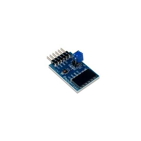 PMODHYGRO : Hygromètre Thermomètre TI HDC1080 pour arduino