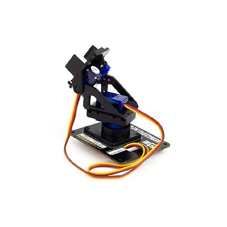 PIM183 Ensemble Tourelle PAN/TILT HAT pour Raspberry et robot divers