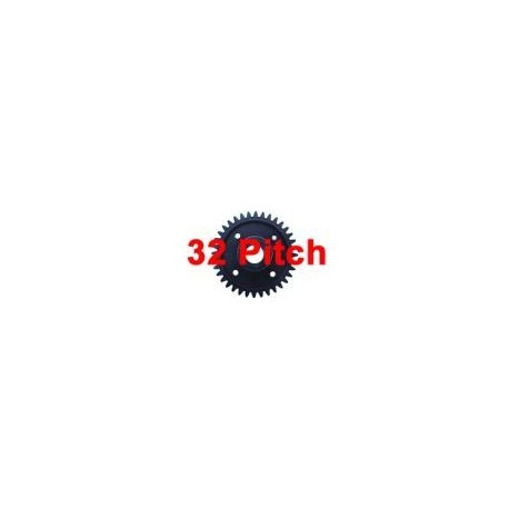 Pignon plastique 40 dents (32 Pitch)
