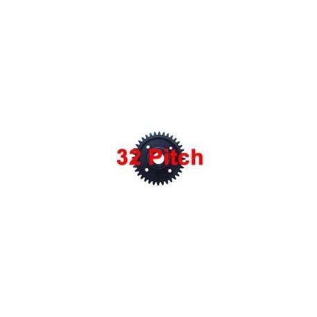 Pignon plastique 44 dents (32 Pitch)
