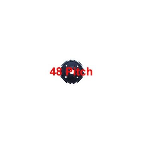 Pignon plastique 44 dents (48 Pitch)