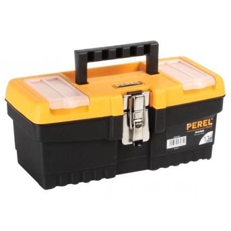 Boîte à outils à fermeture en métal (320 x 165 x 136mm) OM13M