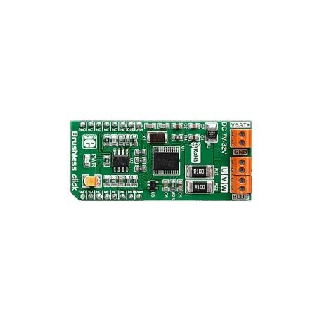 MIKROE-2441 : Brushless Click - commande moteur brushless pour arduino