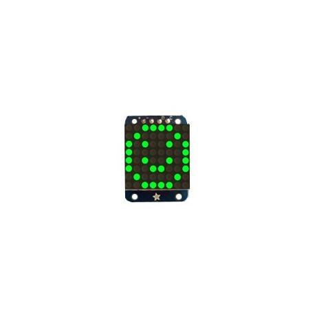 Mini matrice à leds vertes