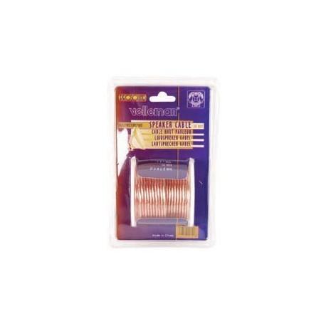 Blister câble haut-parleur 2x1,0mm (10m)