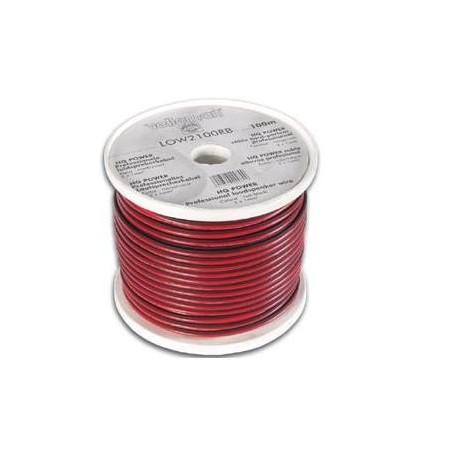 Câble haut-parleur 2x1,0mm (rouge/noir)