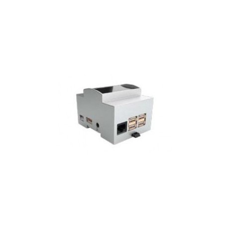 Boitier rail DIN pour ordinateur mono-carte Raspberry 3
