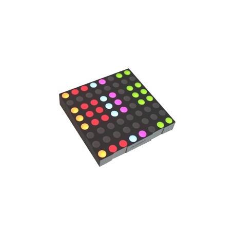 Matrice 8 x 8 à Leds tricolores (60 mm)