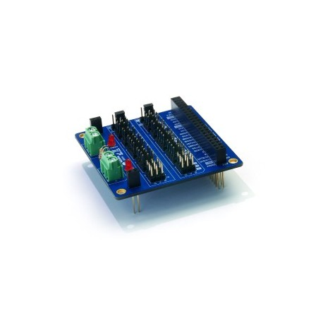 """Platine PWM and Sensor pour plateforme """"PHPoC"""" Sollae Systems"""
