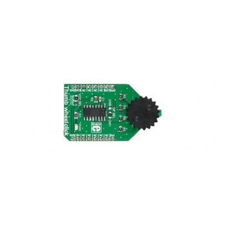 MIKROE-2366 : Thumbwheel Click - Commutateur rotatif 10 positions
