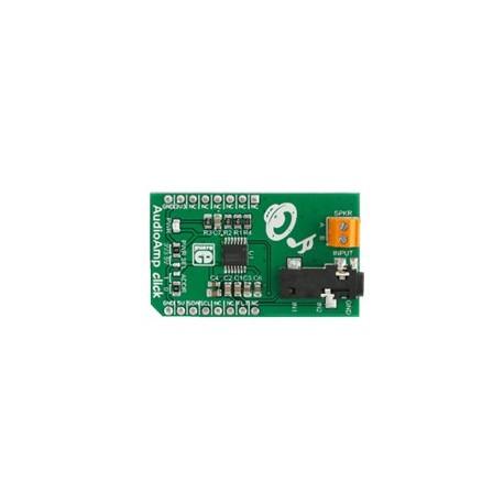 MIKROE-2368 : AudioAmp Click - Ampli mono  1,3 W de type LM48100Q-Q1