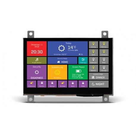 """MIKROE-2280 Afficheur mikromedia HMI 4.3"""" (base  FT900Q)"""
