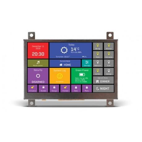 """MIKROE-2278 Afficheur mikromedia HMI 4.3"""" (base  FT900Q)"""
