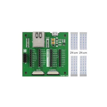 MIKROE-2300 Platine mikromedia HMI Breakout Board Mikroelektronika