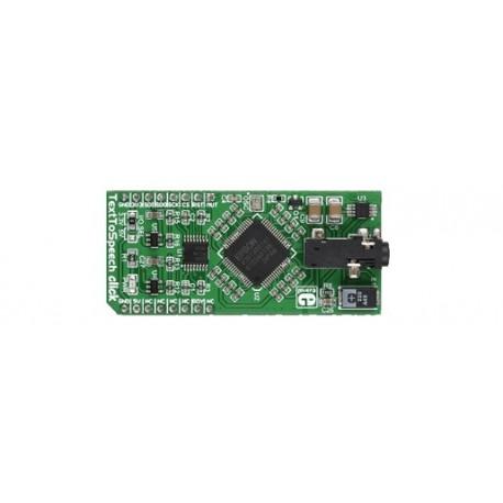 MIKROE-2253 : TextToSpeech Click Board Anglais - Espagnol - S1V30120