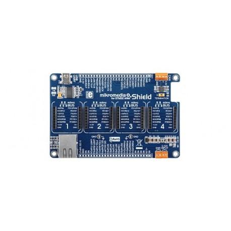 """MIKROE-1417 Platine """"Shield pour mikromedia Plus"""" Mikroelektronika"""