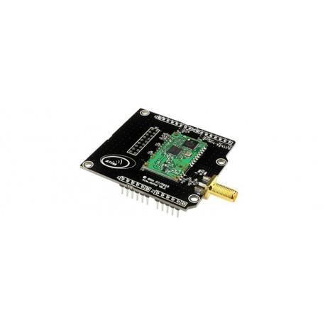 "Shield radio ""ARM-N8-LoRaWAN"" pour communication LORA via arduino UNO"