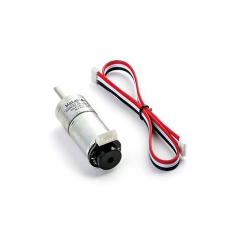MAK80087 Motoréducteur avec encodeur (Vitesse: 185 rpm) pour robotique