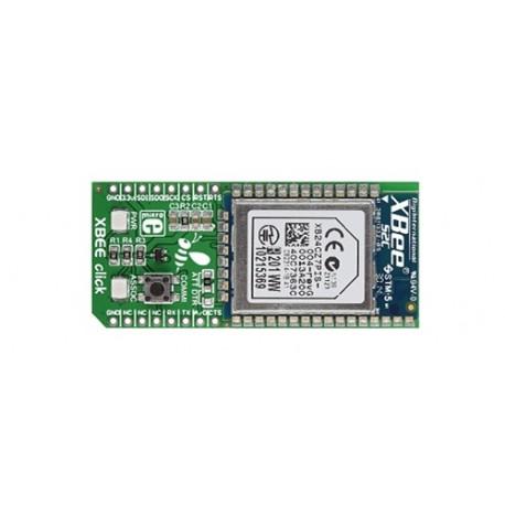 MIKROE-1599 Module XBEE click base mesh ZigBee. B24CZ7PIS-004