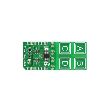 MIKROE-1906 : capteur capacitif TouchKey Click Mikroelektronika