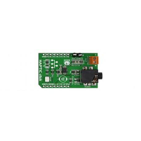MIKROE-2025 : Haptic click - Contrôleur haptique pour moteur vibreur