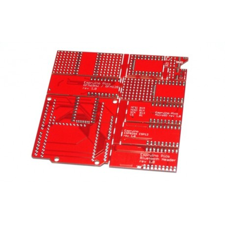Circuits imprimés d'adaptation pour module Espruino Pico