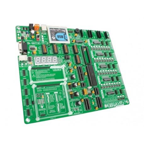 """Starter-kit Mikroelektronika """"EasyAVR7"""" 8, 14, 20, 28 et 40 broches"""