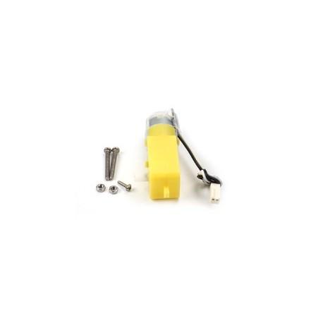 MAK81320 Motoréducteur coudé 1:48 (pignon plastique) pour robotique
