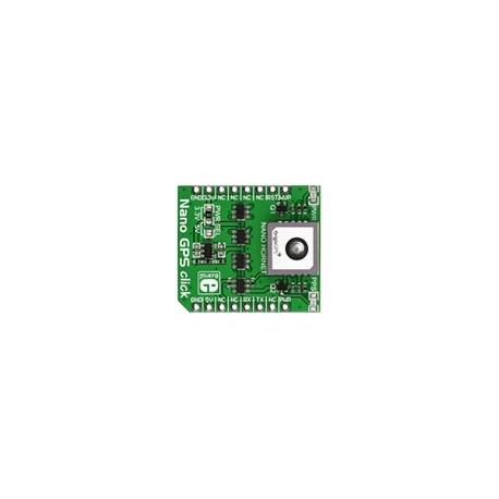 MIKROE-1912 Module NANO GPS Click Board pour GPS Nano Hornet