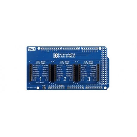 Shield Mikroelektronika Click Board pour arduino™ MEGA2560