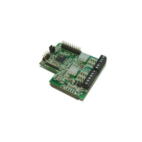 """Module de commande de moteurs cc ou pas-à-pas """"GertBot""""pour raspberry"""