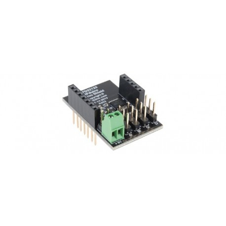RFD22123: RFduino - Servo Shield (option pour module RFduino)