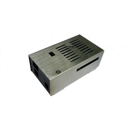 Boîtier aluminium bi-colore pour carte arduinoUNO ou Mega2560